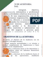 Definición de Auditoria Operacional