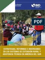 Extension Rural y Asistencia Técnica en AL