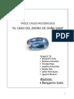 EL CASO DEL ZAFIRO DE DOÑA SARA (1)