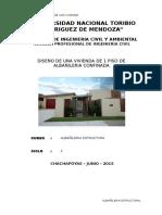 Informe Albañileria Final