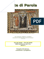 Sete di Parola - XXX settimana C 2016.doc