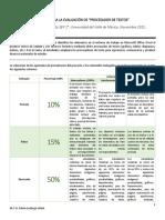 Rúbrica de Evaluación 2P_P1