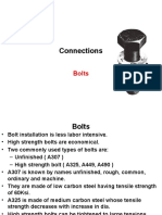 Bolts Connections