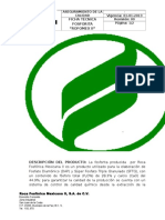 Ficha Técnica Fosforita
