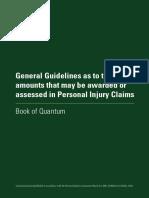 2016 Injuries Board Book of Quantum