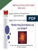 Estructura Electrónica Quimica