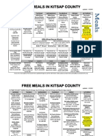 Kitsap Free Meals Guide - October 2016