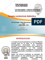 Final MODELO de PPT PARA EXPOSICIONES Terapia Conductal Dialectica
