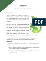ANEXOS educación ambiental