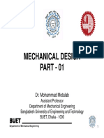 1) Machine Design Lecture