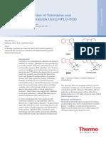 AB 167 HPLC ECD Yohimbine Alkaloids AB71168 En