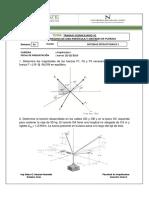 1° Práctica - Sistema de fuerzas