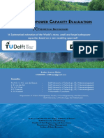 World Hydropower Evaluation Part 1 Theoretical Background
