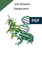 Biología Modulo Sexto