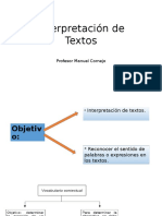 Interpretación de Textos PSU