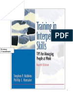 Interpersonal Skill Workbook