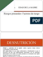 Edad- Desnutricion