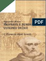 Aleksandar Molanar - Rasprava o Demokratskoj Ustavnoj Državi ( Pravo Na Otpor Tiraniji) I