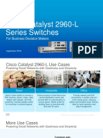 Catalyst 2960 l Series Switches Presentation