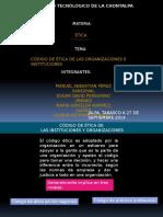 Codigo de Etica de Las Organizaciones e Instituciones