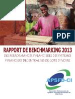 Rapport de Benchmarking 2013