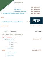 00 - WCDMA RAN Workshop Agenda Rev A