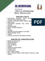 Rincones Bilingue