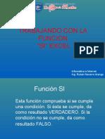 Funcion Si Excel 2016