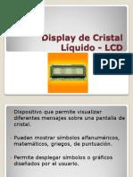 Presentacion LCD pic16f628