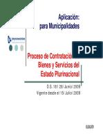 Proceso Contratacion Sabs 181 - Municipal