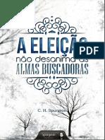 A Eleicao Nao Desanima as Almas Buscador - C. H. Spurgeon