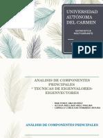 Analisis de Componentes Principales