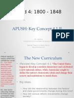 APUSH - Concept - 4.1.II - Harding