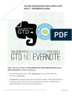 Guia Definitivo Do Vida Organizada Para Usar o GTD No Evernote – Parte 1 – Refer 1