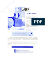 Cuadernillo MIPS (Tea Ed.)