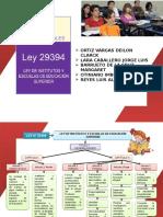Ley de Institutos 29394