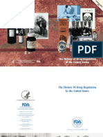 History Drug Regulation EEUU_high FDA
