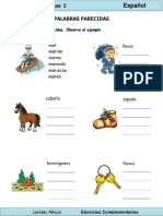 2do Grado - Español - Campos semánticos (relación sonoro-gráfica).pdf