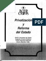 _INTERCAMPUS 35 Privatización y Reforma Del Estado