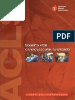 ACLS Manual Del Proveedor