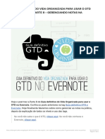 Guia Definitivo Do Vida Organizada Para Usar o GTD No Evernote – Parte 8 – Geren