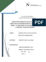 Infrome Final de Formulacion Modulo 1