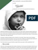 17 fatores que podem estar matando a sua produtividade.pdf