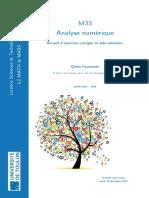 Analyse Numerique Faccanouni