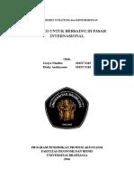 Bab 7 Strategi Untuk Bersaing Di Pasar Internasional