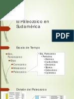 El Paleozoico en Sudamérica