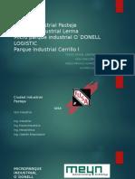 parque industrial odonell , corredor industrial lerma