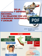 Gestion de La Seguridad y Defensa Nacional