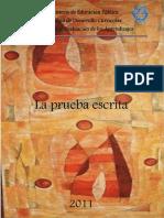 LA PRUEBA ESCRITA-2011.pdf