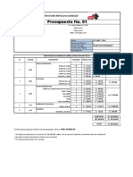 Presupuesto Mano de Obra (1)